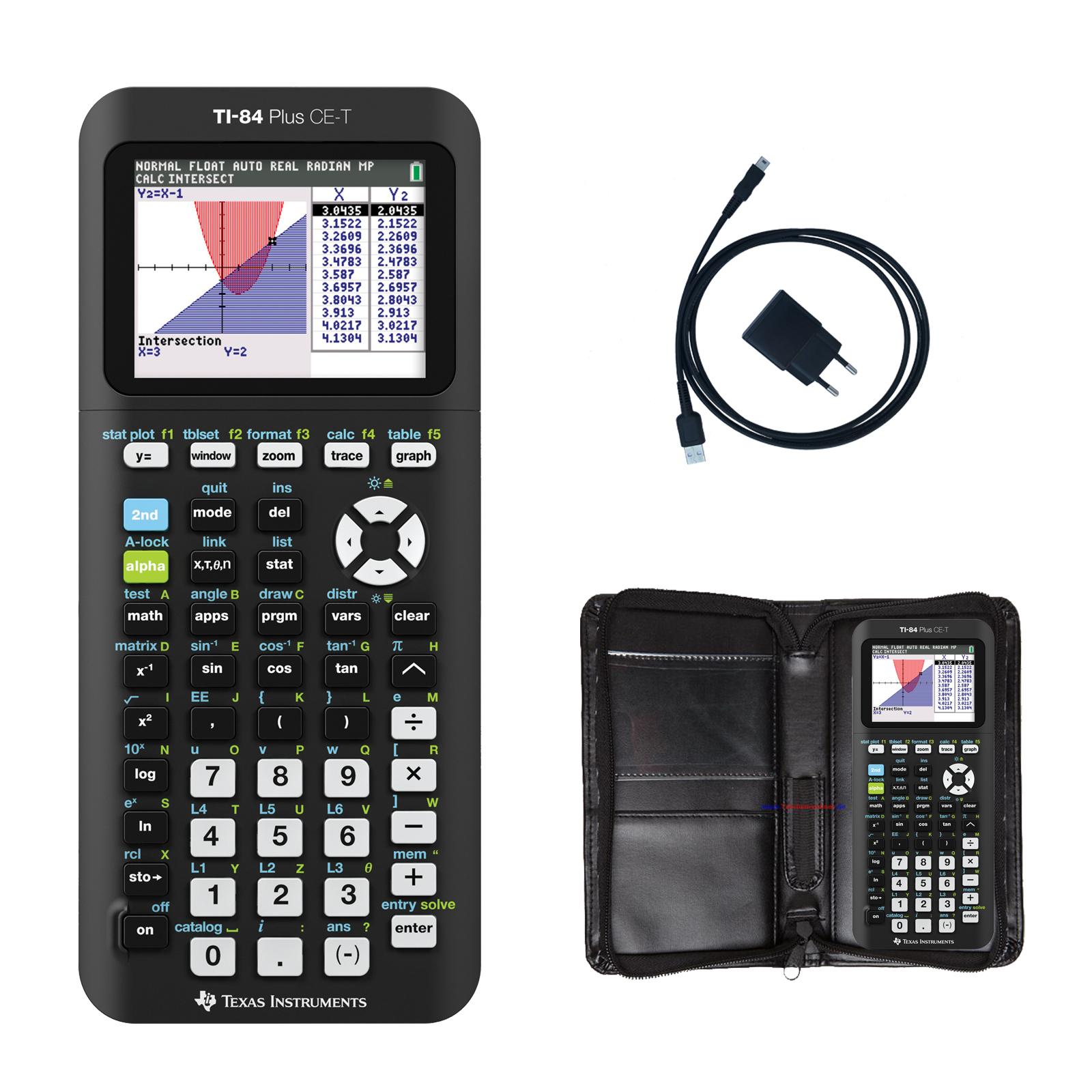 TI 84 Plus Schutztasche für Taschenrechner für Modell