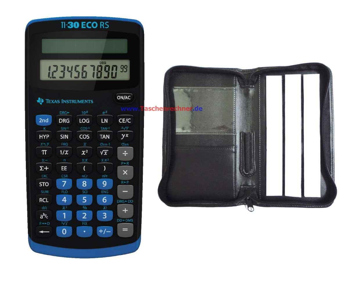 Texas Instruments Ti 30 Eco Rs Tasche Online Kaufen Für Schulen