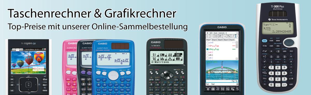 Taschenrechner Kaufen Für Schulen Casio Ti Sharp Vernier
